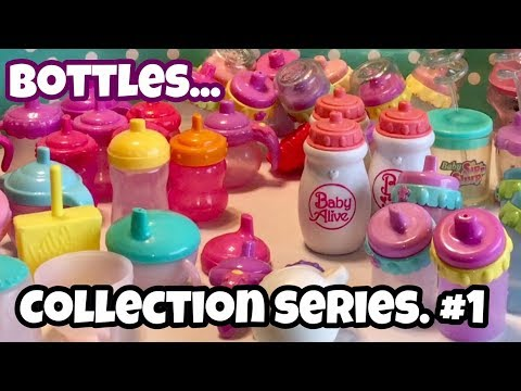 1️⃣ Baby Alive bottle collection VINTAGE TO CURRENT