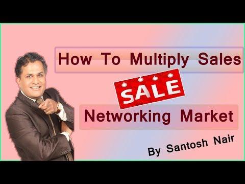 Santosh Nair Sales Multiplier Formula in Hindi  MLM KA MAGIC Network Marketing