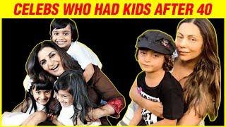 Gauri Khan, Farah Khan, Kashmira Shah   Bollywood Moms Who Had Kids After 40