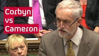 Jeremy Corbyn vs David Cameron - watch PMQs live