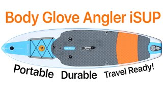 New: This Paddleboard Fits In A Backpack!  Bodyglove Mariner Isup!