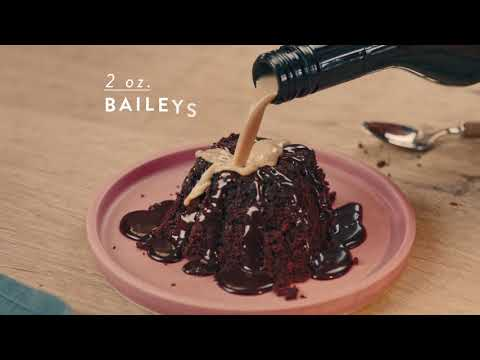 Baileys Sweet Volcano Dessert  | Baileys Original Irish Cream