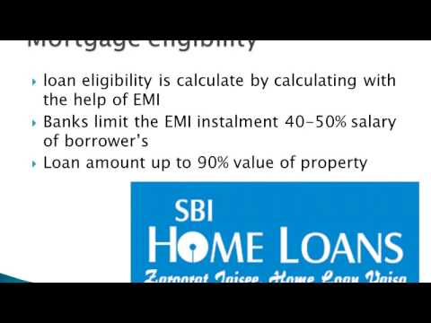 SBI Mortgage Loan Eligibility, Interest rates, Features