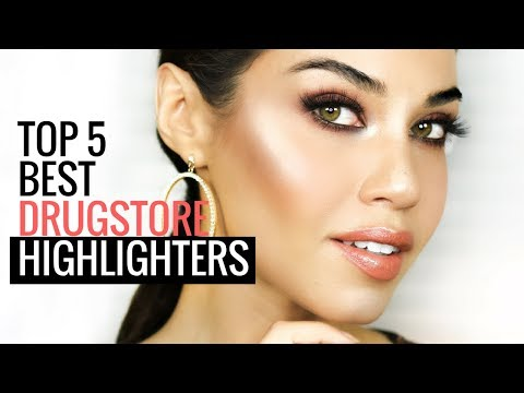 BEST DRUGSTORE HIGHLIGHTERS 2017 | Top 5 AFFORDABLE Drugstore Powder Highlighters|