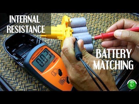 AFFORDABLE Battery Internal Resistance Meter(Battery Matching)
