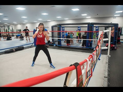 Alexis Lavarine: 14-year old girl boxer training for the Olympics