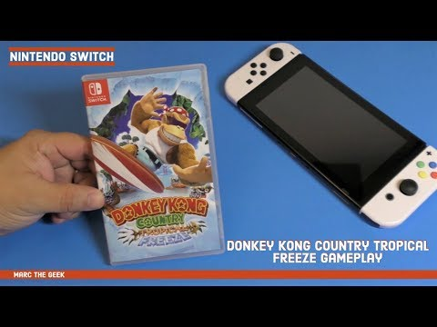 Nintendo Switch Donkey Kong Country: Tropical Freeze Gameplay