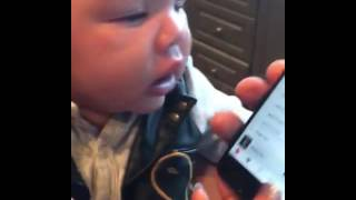 T I and Tiny Harris Baby stops crying every time she hears Prince song Purple Rain