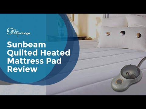 Sunbeam Quilted Heated Mattress pad review