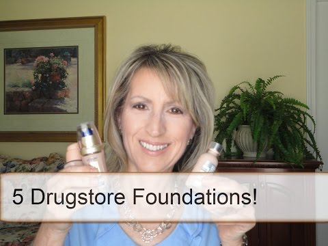 DRUGSTORE FOUNDATIONS REVIEWED - Almay, L'Oreal, Maybelline, Revlon, etc.