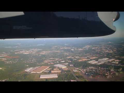 American 4939 Dash 8 Salisbury SBY 14 to Charlotte CLT 36R 7SEP2017
