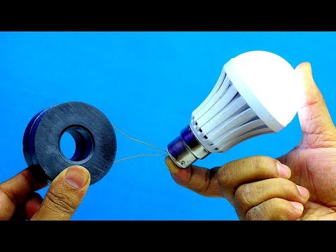Free Energy Electricity Generator Using Magnets - Free Energy Generator Using Copper Wire