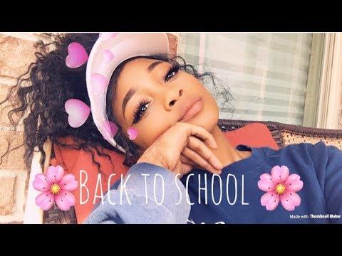Easy back to school BADDIE makeup (i suck)🔥💕