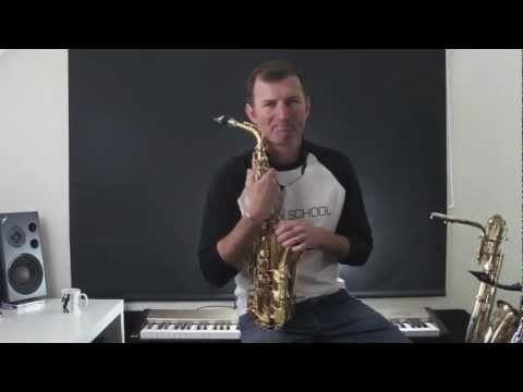 Daily Saxophone tip #7 Scales in Thirds - Learn how to play saxophone with lessons from Sax School