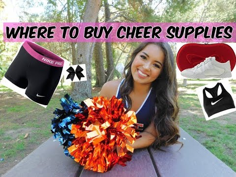THE BEST places to get cheer supplies! | Alyssa Revecho