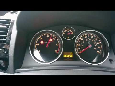 Vauxhall opel zafira DPF regeneration with Tech 2
