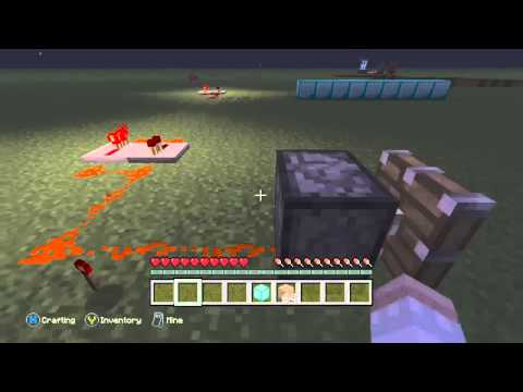 Minecraft: Xbox One Edition How To Make A Diamond Generator
