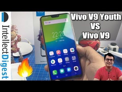 Vivo V9 Youth Unboxing And Comparison With Vivo V9- Vivo V9 VS V9 Youth | Intellect Digest