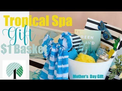 Dollar Tree DIY Spa Gift Basket under $15!♥