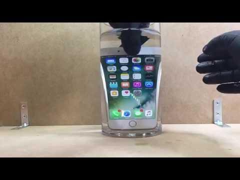 iPhone 7 & Plus waterproof test