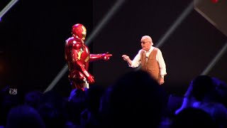 Iron Man Experience presentation with Stan Lee at D23 Expo 2015