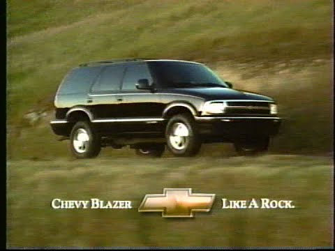 1996 Chevrolet Blazer tv commercial