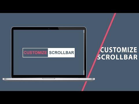 Customize Scrollbar | CSS Tutorial