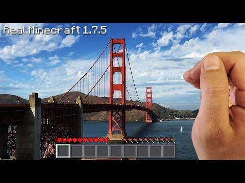 Real Life Minecraft - GOLDEN GATE BRIDGE
