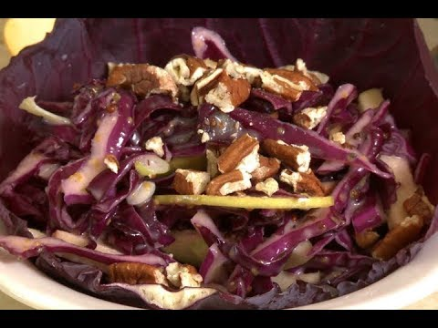 Good Food, Good Life, 365 - Red Cabbage & Apple Slaw