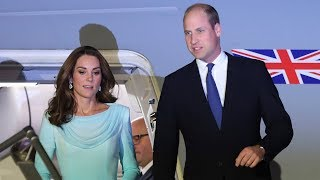 Prince William and Kate arrive in Pakistan ahead of five day Royal tour