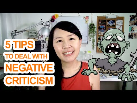 Facing Negative Criticism? 5 Tips to Deal with Criticism