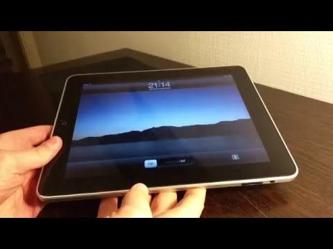 Apple iPad First Generation - 16GB Wi Fi