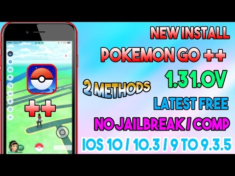 New How To Install Pokemon Go++ 1.31.0 Latest Free (NO JAILBREAK/COMP) iOS 10/9 On iPhone/iPod/iPad