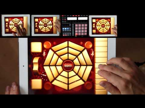 MUZA - musical instrument and MIDI Controller for iPad and iPhone
