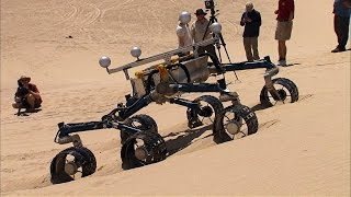 Testing the Curiosity Rover on Earth