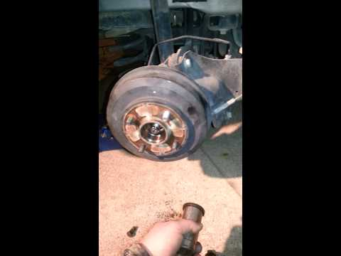 Ford focus rear wheel lug stud replacement