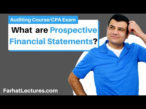 Prospective Financial Statements: Projection and Forecast | Auditing and Attestation | CPA Exam