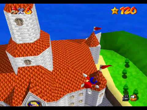 Super Mario 64 - Easy non-TAS Hyperspeed Flying