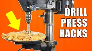 5 Quick Drill Press Hacks Woodworking Tips And Tricks