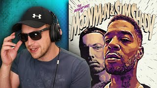 KID CUDI - The Adventures Of Moon Man & Slim Shady ft. EMINEM - REACTION/REVIEW!!!