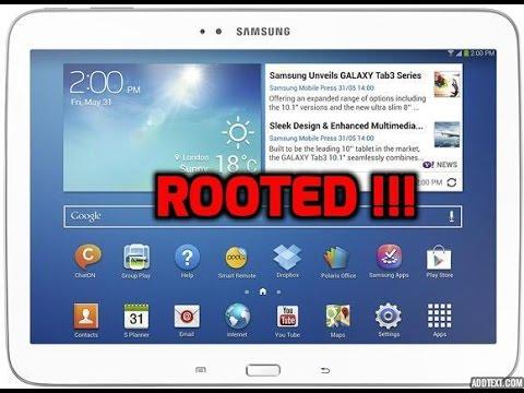 Root Galaxy Tab 3 10.1 Any Model