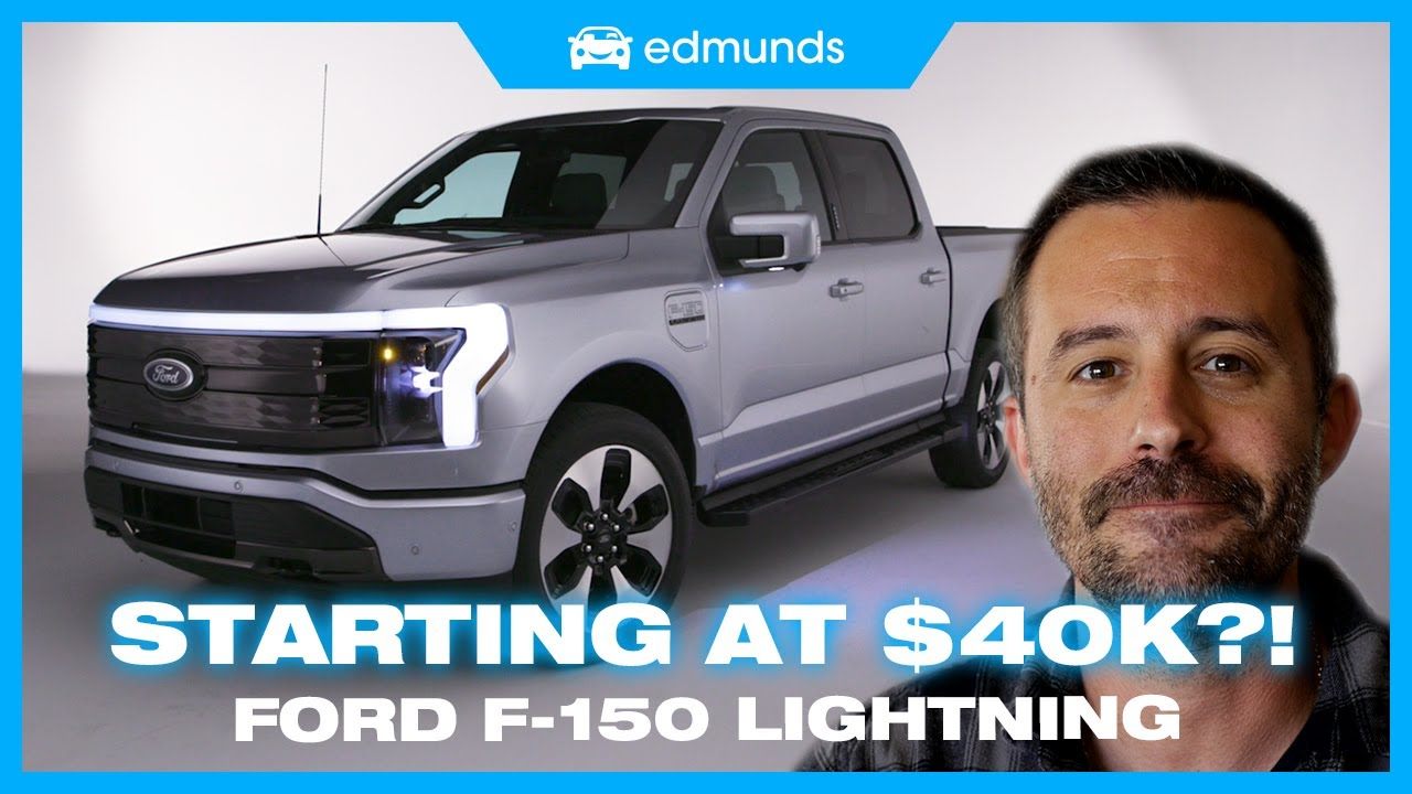 Ford F-150 EV Reveal | The F-150 Lightning Is Ford's All-New Electric Truck | Price, Range & Towing
