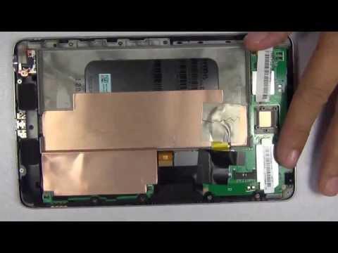 Google Nexus 7 Battery Replacement Procedure