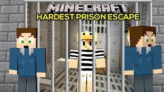 MINECRAFT | WORLDS HARDEST PRISON ESCAPE!!