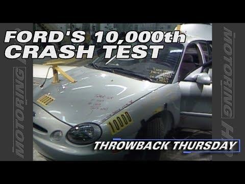Throwback Thursday: Ford's 10,000th Crash Test