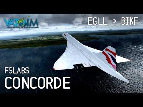 [Livestream] Concorde goes to Iceland