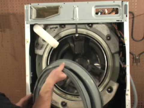 GE Front Load Washer Door Gasket Replacement