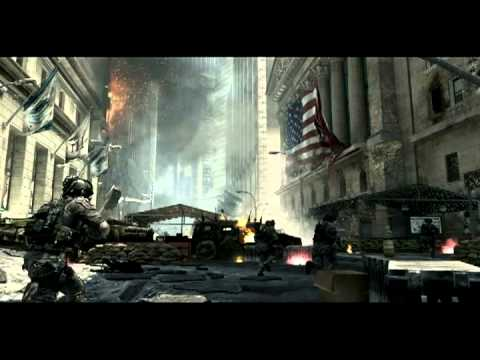 Warfare sound effect 1 - close firefight