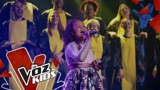 Anabelle canta Creo en Mí - Final   La Voz Kids Colombia 2019