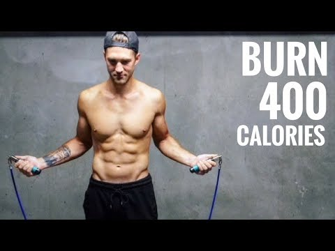 How To Burn 400 Calories In 20 Minutes With Jump Rope